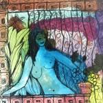 Blue Venus - mixed media - 8 x 7.5 - 2014 - $105