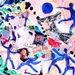The Big Bang - mixed media on canvas - 18'' x 22'' - 2013 - $795