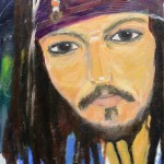 Johnny - acrylic - 2005