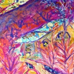 Sunset at Indigo - mixed media on canvas - 16'' x 12'' - 2009 - $325