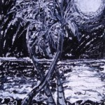 Trio - oil stick on canvas panel - 20'' x 16'' - 2010 - $350