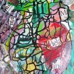 "Africa Mandela - acrylic on cardboard -16""x20"" - 2013 - $575"