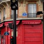 In front my hotel in Saint Germain