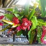 Bouquet in the kitchen