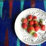 Strawberries back gammon